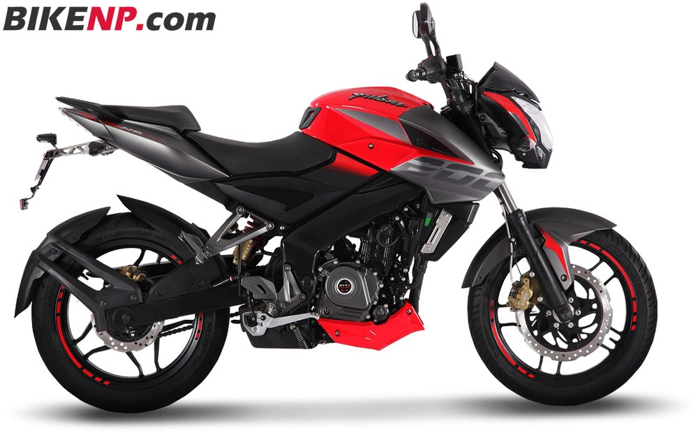 Bajaj Pulsar NS 200 With ABS