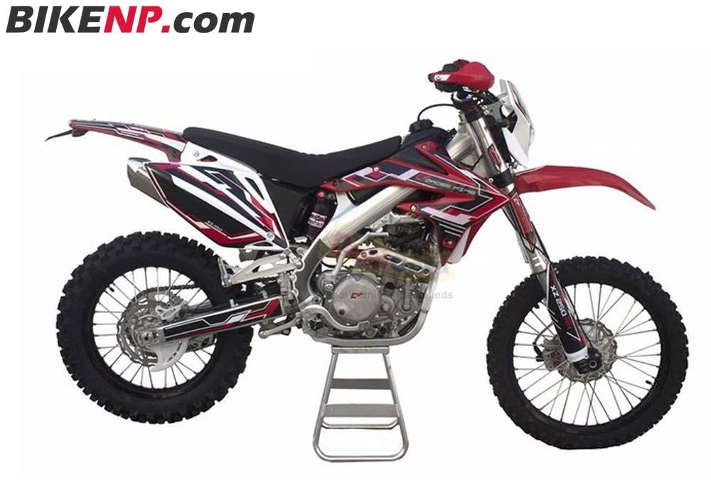Crossfire XZ250RR (Dirt)
